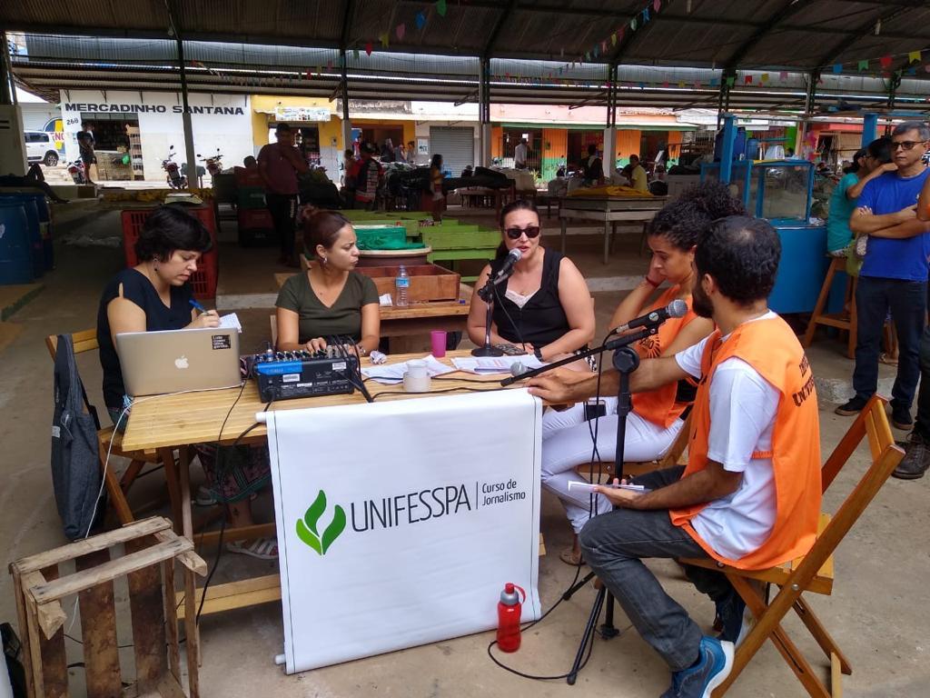 Rádio na feira estreia no Mercado Municipal de Rondon do Pará