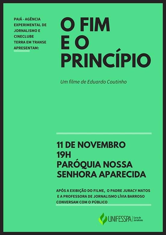 Cineclube exibe 'O fim e o princípio' de Eduardo Coutinho